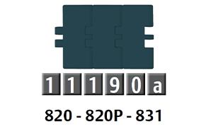 820-831 平頂鏈條