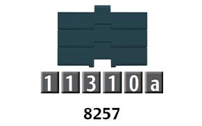 8257 平頂鏈條