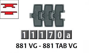 881 勾腳/八字型防滑鏈條