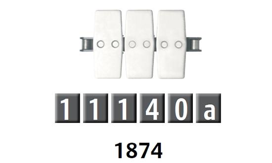 1874 平頂鏈板