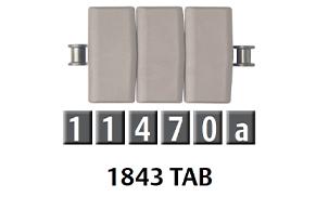 1843 平頂鏈板
