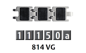 814 窄版防滑鏈條
