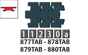 877-880 勾腳型頂板鏈條