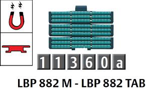 882 磁性/勾腳型低噪音滾珠鏈條