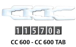 CC 600 箱式輸送鏈條