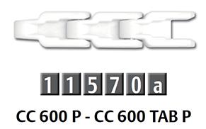 CC 600 P 箱式輸送鏈條